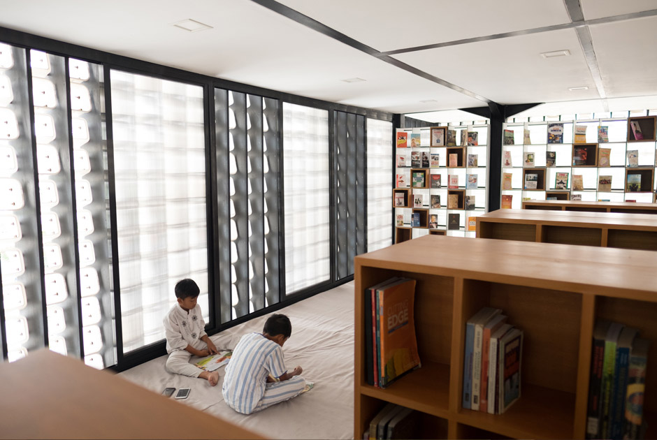 Microlibrary Taman Bima by SHAU Architect - Indonesia