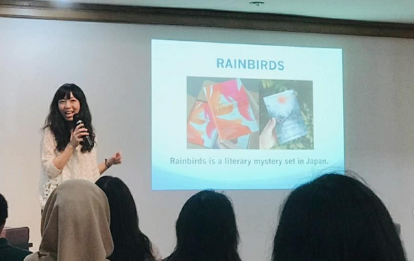 author of the month Clarissa Goenawan penulis Rainbirds